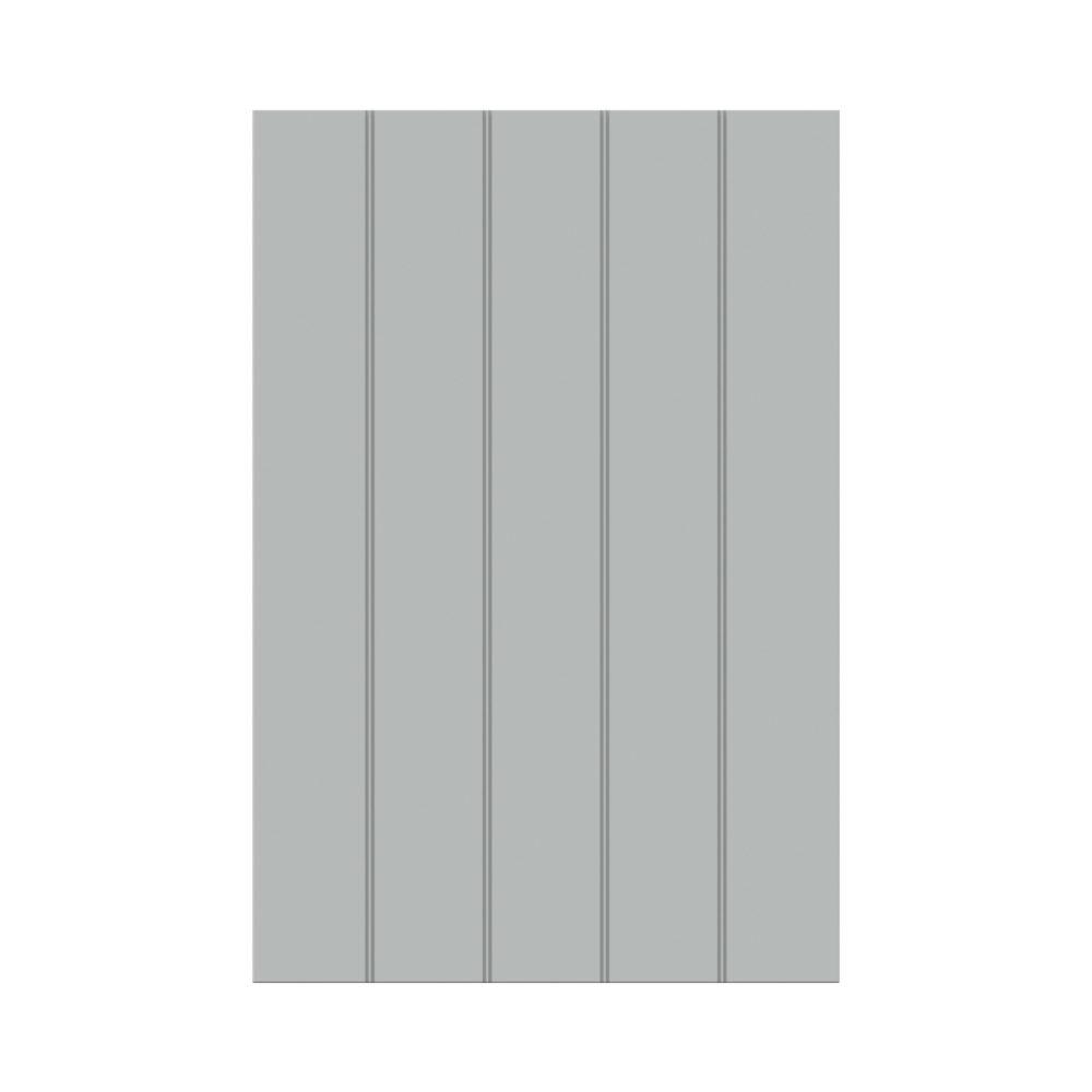 Sidevæg – dobbelt rille